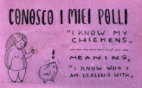 I know my chickens