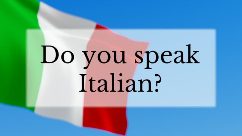 nationalities and languages in italian