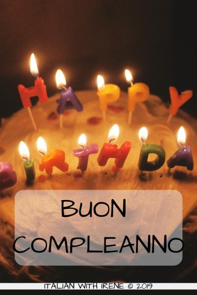 how do you say happy birthday in italian