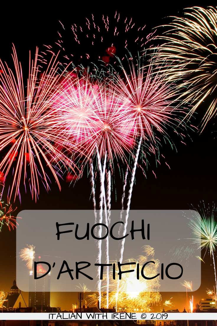 how do you say fireworks in italian