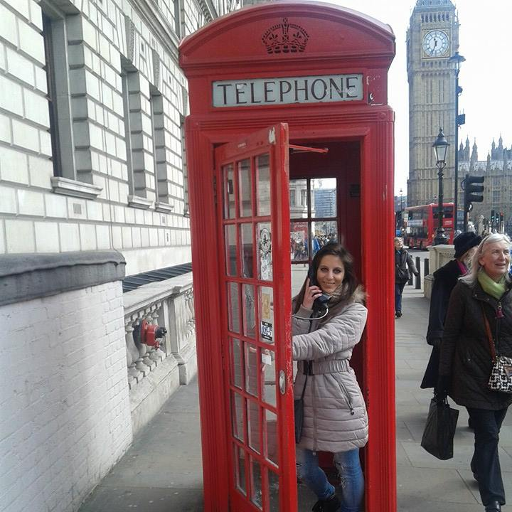 me in london talking on the phone in front the big ben, if i can do it you can too