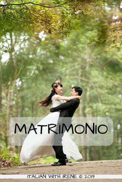 how do you say wedding in italian