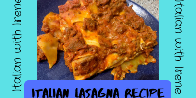 how to make Italian lasagna - italian lasagna recipe