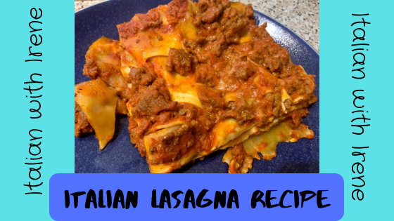 how to make Italian lasagna - italian lasagna recipe